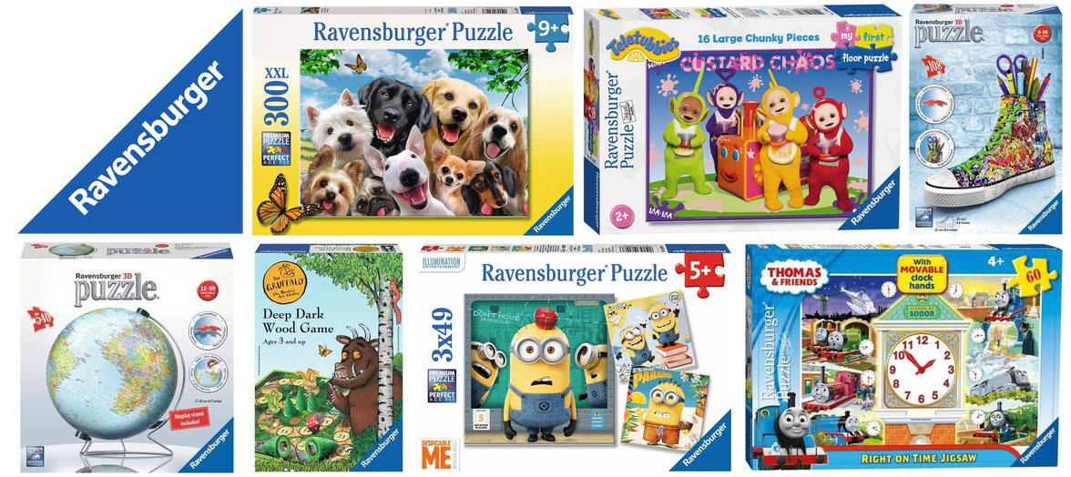 Ravensburger Puzzles & Games