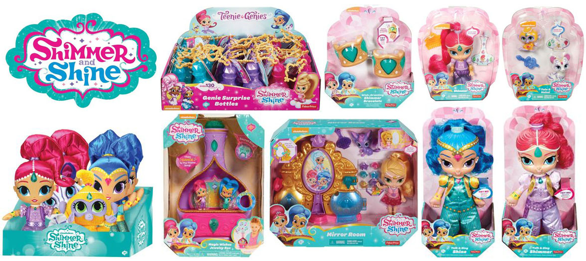Shimmer & Shine Dolls and Toys